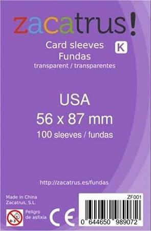 FUNDAS MAYDAY USA 56MM X 87MM (100) (LILA): Amazon.es: Juguetes y juegos