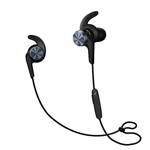1MORE iBFree Bluetooth (Wireless) Sport In-Ear Headphones (Earphones/Earbuds) w/ microphone and controls compatible with Apple iOS & Android (Space Gray) – 2018, New Model Review