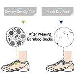 MD Unisex Premium Bamboo Socks Super Soft Moisture