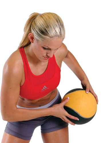 Cap Rubber Medicine Ball Set with Rack by CAP Barbell (Image #4)