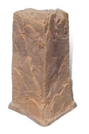 Fake Rock Pedestal Cover Model 113 Autumn Bluff by Dekorra
