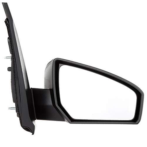 ECCPP Black Power Side View Door Mirror Passenger Side(RH) for 07-12 Nissan Sentra - Door Passenger Rh