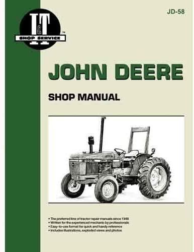 Amazon.com: All States Ag Parts Parts A.S.A.P. I&T Shop Manual Compatible  with John Deere 2550 2550 2155 2155 2255 2255 2355 2355 2150 2150 2555 2555  2350 2350 2355N 2355N: Garden & OutdoorAmazon.com