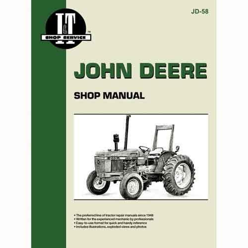 All States Ag Parts I&T Shop Manual John Deere 2255 2255 2355 2355 2350 2350 2355N 2355N 2550 2550 2150 2150 2555 2555 2155 ()