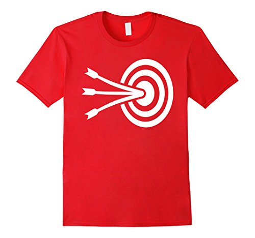 Mens Archery target T-Shirt XL - For Men Target
