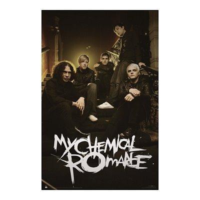 - (22x34) My Chemical Romance (Group, Sitting) Music Poster Print