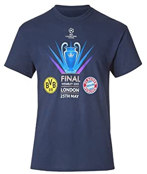 T Shirt With Wembley 2013 Champions League Final Friendship BVB Borussia Dortmund FC Bayern
