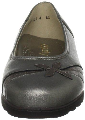 Padders Blenheim - Zapatos de tacón de cuero mujer gris - Antique Pewter