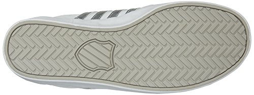 K-swiss Donna Belmont So Fashion Sneaker Bianco / Argento