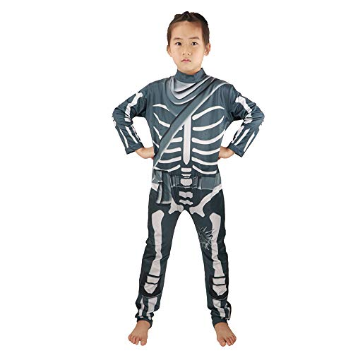 China Halloween Costumes Boy - HuangWeida Skull Trooper Costme for Kid