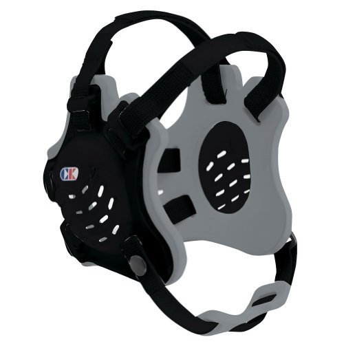 Cliff Keen Tornado Wrestling Headgear - COLOR: Black/Silver/Black - Guard Headgear Ear Foam
