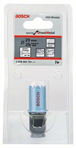 Bosch 2608584781 Hole saw for sheet metal 20mm