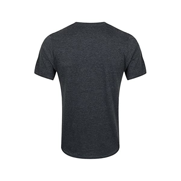 Fender Guitar T-Shirt Mottled Dark Grey