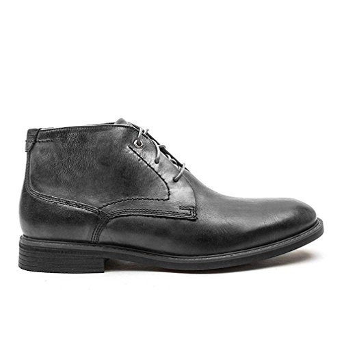 Rockport Classic Break Dark Shadow Leather Chukka Boots-UK 10