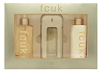 fa82f19ef6e Fcuk Eau De Toilette Spray Gift Set for Her: Amazon.co.uk: Beauty