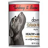 Dave's Grain Free Turkey and Bacon Formula Canned Dog Food, My Pet Supplies
