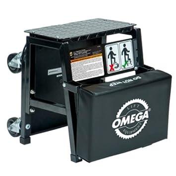 Omega Lift 91305 2-n-1 Mechanics Creeper Seat/step Stool  sc 1 st  Amazon.com & Amazon.com: Omega Lift 91305 2-n-1 Mechanics Creeper Seat/step ... islam-shia.org