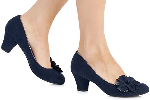 Ruby Shoo Samira Damen Schuhe Blau