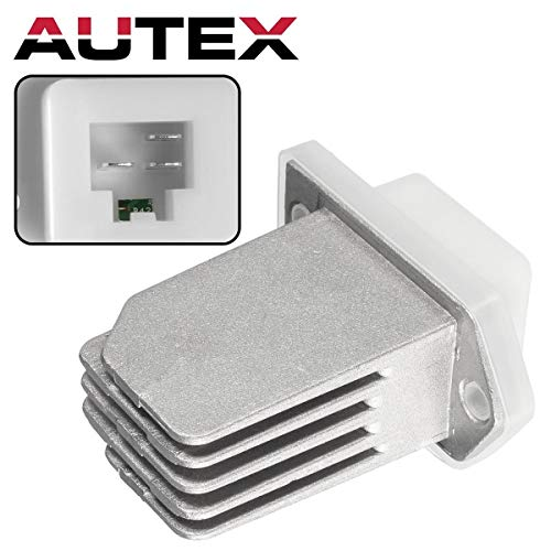 - AUTEX AC Blower Motor Resistor Compatible with Nissan NV1500 2500 3500 12-14,Nissan Rogue Sentra Pathfinder 08-17 Replacement for Infiniti QX60 QX4 Q45 G20 I30 97-17 Blower Resistor RU700 RU788