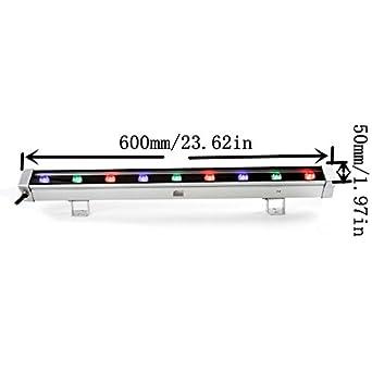 Cooo 9W RGB Linear LED Wall Wash Light Bar Aluminum Alloy