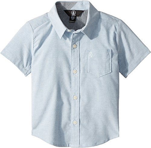 Volcom Boys' Everett Oxford Short Sleeve Little Youth, Wreck