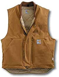 Mens Big & Tall Flame Resistant Heavyweight Duck Vest