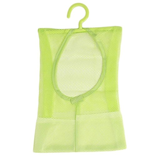 GUAngqi Clothes Pin Storage Bag Mesh Net Laundry Clothespin Holder Hook Towel Net