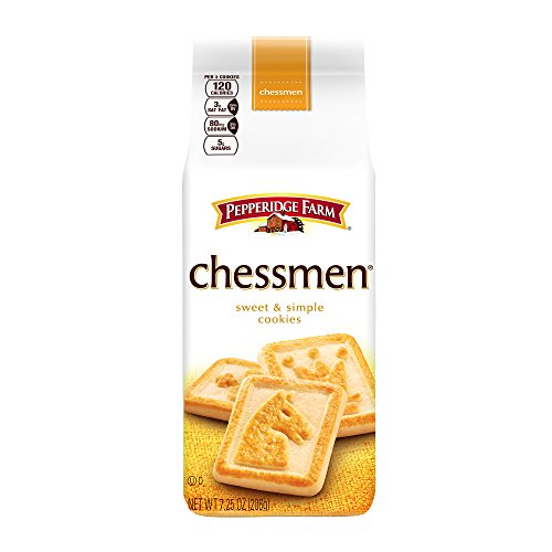 Pepperidge Farm Chessmen Cookies, 7.25-ounce (pack of 4)