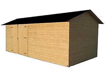 cadema Jardín Casa de madera, incluye suelo 2, 7 m x 3, 9 m x 2, 4, (19 mm) de dispositivo betera Casa: Amazon.es: Jardín