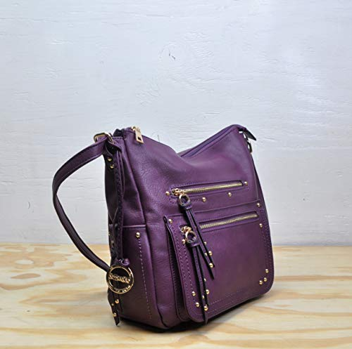 Messenger Sori Body Handbag Women SORRENTINO Purple for Cross Spacious Collection amp; No Girl 050 Young and qtxwYdR