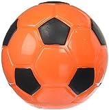 Petface Dog Treat Dispenser, Slow Feeder, Soccer Ball, Orange/Black