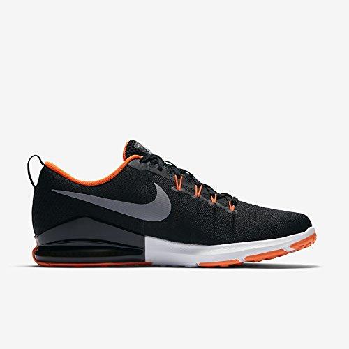 hyper Black 016 Fitness Grey Noir wolf black wolf Chaussures Homme De Trainingsschuh Train Zoom Nike Action Crimson waqP8nf