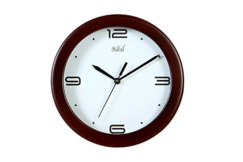 Safal Sleek Look Kithen Beauty Wooden Wall Clock