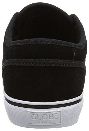 Black Nero Globe Motley Sneaker Suede Uomo atqIqrw