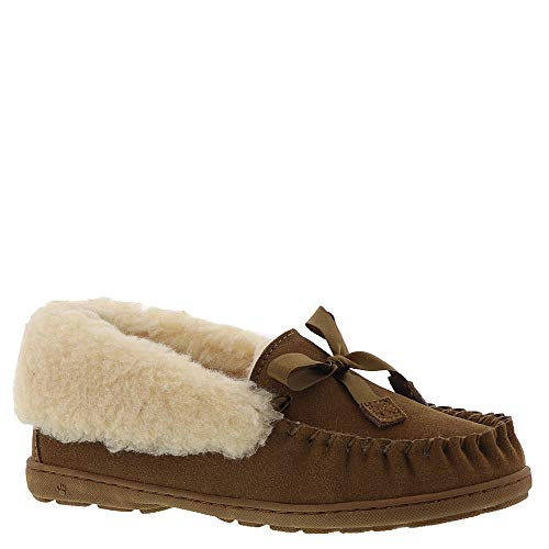 BEARPAW Womens Indio Slippers Color: Hickory Ii