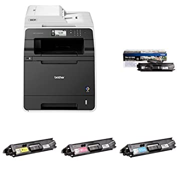 Brother DCP-L8400CDN - Impresora multifunción láser color + Pack de 4 tóners TN326