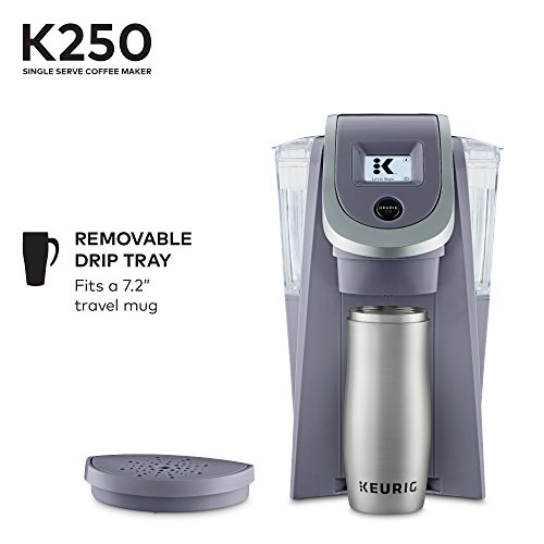 Keurig K250 Single Serve K-Cup Pod Coffee Maker with Strength Control Plum Grey Plum Grey by Keurig (Image #2)
