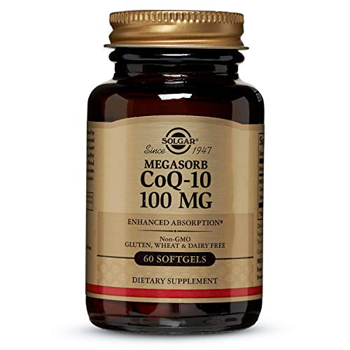 Solgar Megasorb CoQ-10 100 mg, Enhanced Absorption, Non-GMO, 60 Softgels