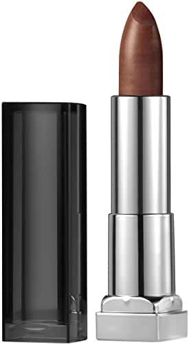 Maybelline New York Color Sensational Matte Metallic Lipstick, Molten Bronze, 0.15 Ounce