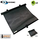 Ergoseat - 2 Cortinillas enrollables laterales 50x45 cm