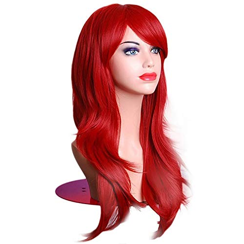 65Cm Long Wave Synthetic Wigs For Black Women Cosplay Wig Blonde Blue Red Pink Grey Purple Hair For Human Party,#2,26inches