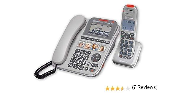 Teléfono Combo Amplificado Fotos: Amazon.es: Electrónica