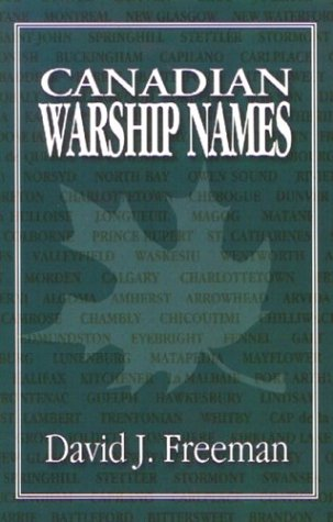 Download Canadian Warship Names PDF