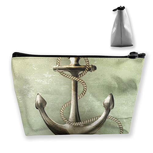 Makeup Bag Trapezoidal Storage Bag Anchor Portable Cosmetic Bag Ladies Mobile Travel Bag