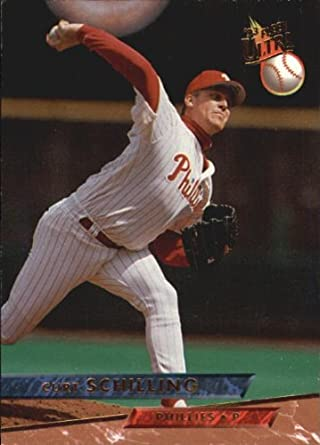 Amazoncom 1993 Ultra Baseball Card 445 Curt Schilling