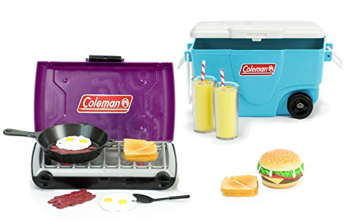 - Sophia's 18 Inch Doll Miniature Coleman Stove, Food and Cooler Set for Dolls | 13 Pc Set, Perfect for 18 Inch American Girl Camping | Coleman Licensed Product