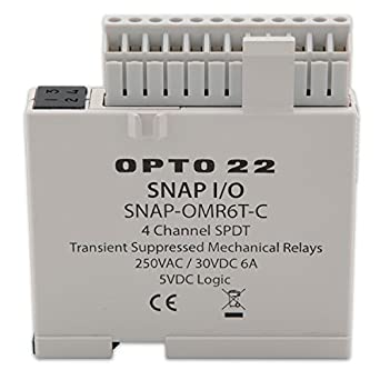 opto 22 snap omr6t c snap isolated 4 channel mechanical. Black Bedroom Furniture Sets. Home Design Ideas