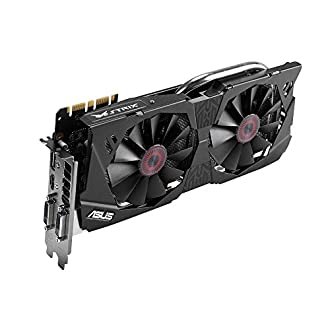 ASUS STRIX GeForce GTX 970 Overclocked 4 GB DDR5 256-bit DisplayPort HDMI 2.0 DVI-I Graphics Card