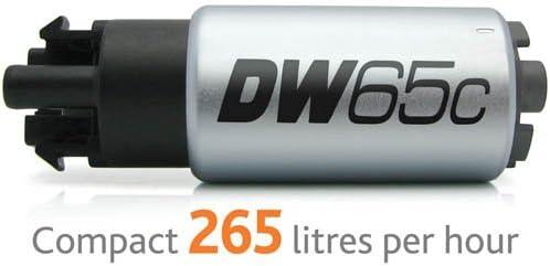 Deatschwerks DW65C Series 265lph Compact Fuel Pump w// Install Kit #9-651-1000