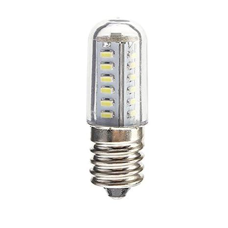 Nevera Lampara luz led cordones E14 Capó Mini lámpara de cristal ...